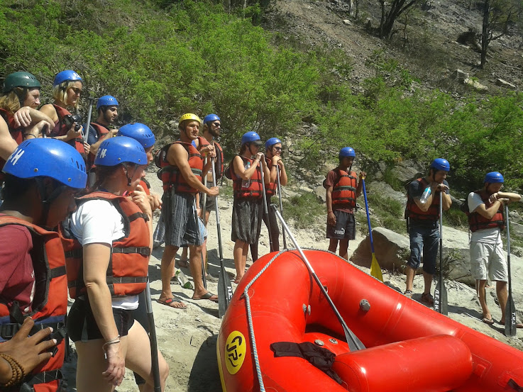 Ganges River Rafting