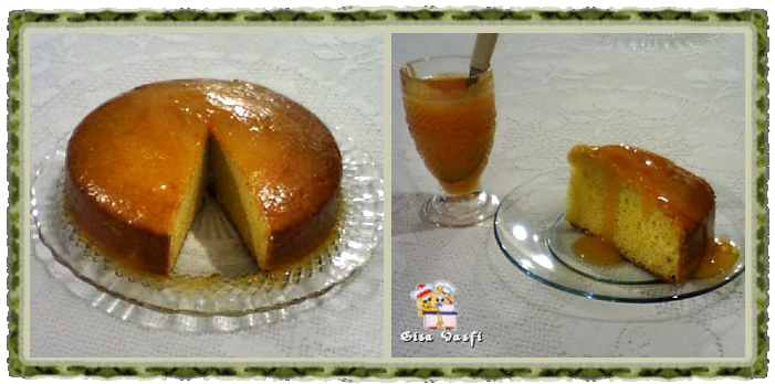 Bolo cremoso de tangerina 2