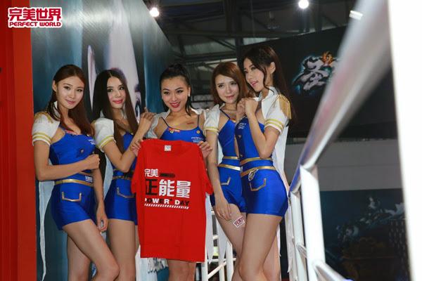 Ngắm dàn mỹ nữ của Perfect World tại ChinaJoy 2013 27
