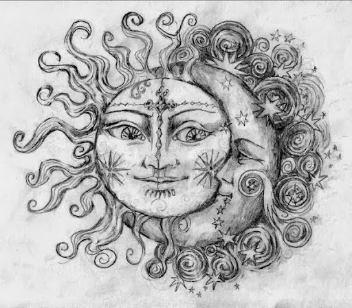 25 Awesome Sun And Moon Tattoo Ideas