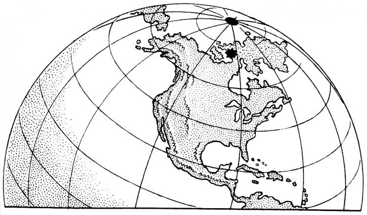 Norteamérica para colorear