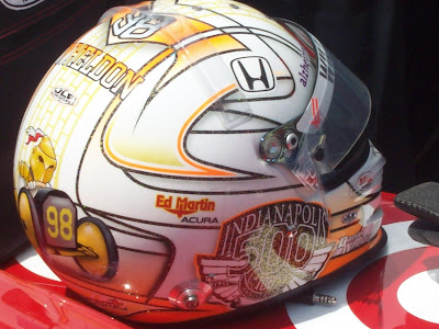 Dan Wheldon at Goodwood 2011