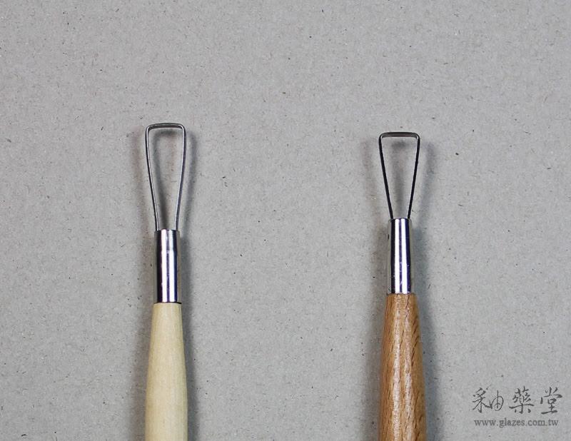 陶藝工具-修坯刀中國製台灣製比較