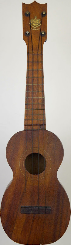 Yee hop and co Hawaiian mahogany co soprano Ukulele