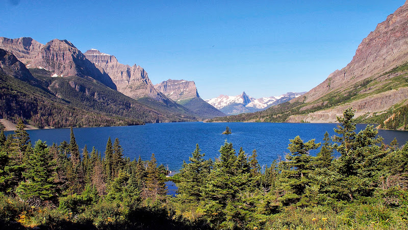 St. Mary Lake, Glacier NP