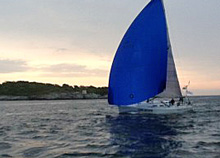 J/109 saiing two-star trans-atlantic race