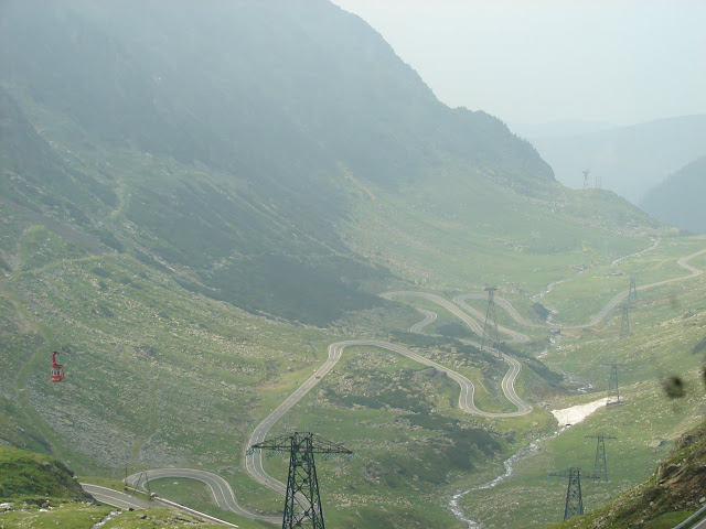 Transfagarasan Mountain Road