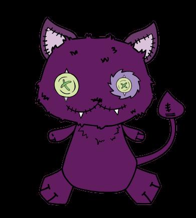 Monster High: peluche de Crescent, la mascota de Clawdeen