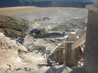 Hindu's Temple at Bromo Mountain - Indonesia Mountain