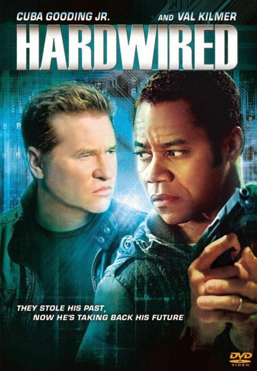 Poster Of Hardwired (2009) Full Movie Hindi Dubbed Free Download Watch Online At Alldownloads4u.Com