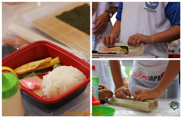 Bikin Sushi Di Cooking Japan School Caravan