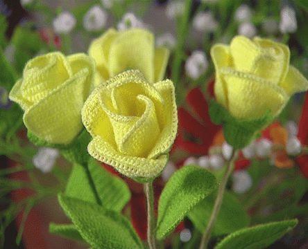 Picasa web albums flores crochet - Imagui