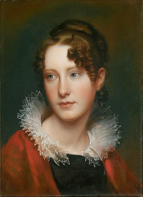 Rembrandt Peale - Portrait of Rosalba Peale - Google Art Project