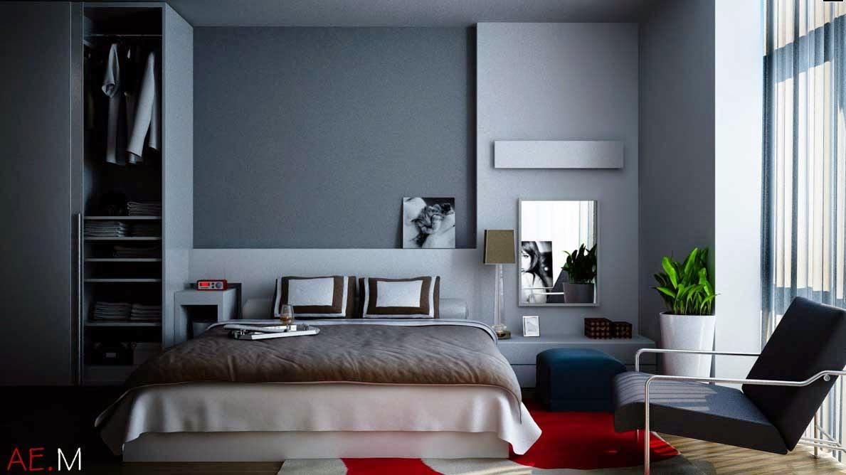 grey bedroom ideas decorating