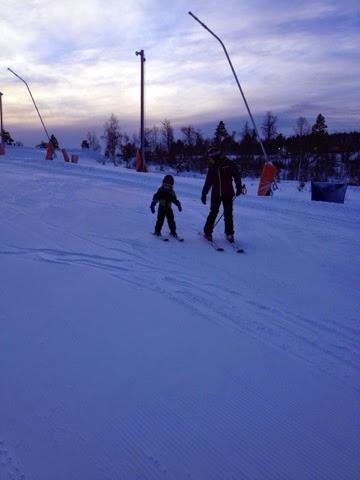 branäs åka skidor