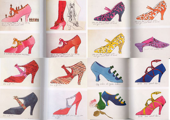 ANDY WARHOL'S SHOES
