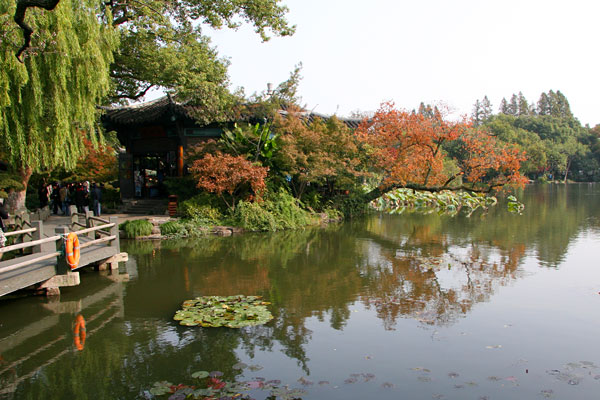 Landscaping Pond Banks : Paul s travel pics a full day on the west lake of hangzhou