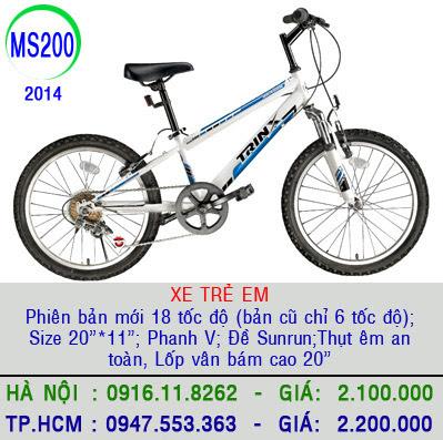 XE DAP THE THAO   XE DAP DIA HINH, xe dap the thao, xe dap trinx, xe đạp thể thao chính hãng, xe dap asama, HS%2BMS200