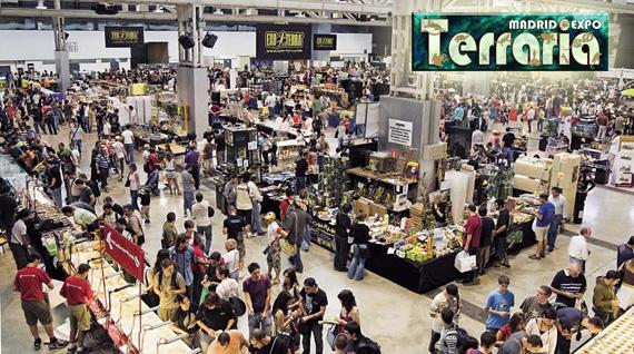 Expoterraria Madrid, Feria Internacional de compraventa de reptiles, anfibios, artrópodos y peces