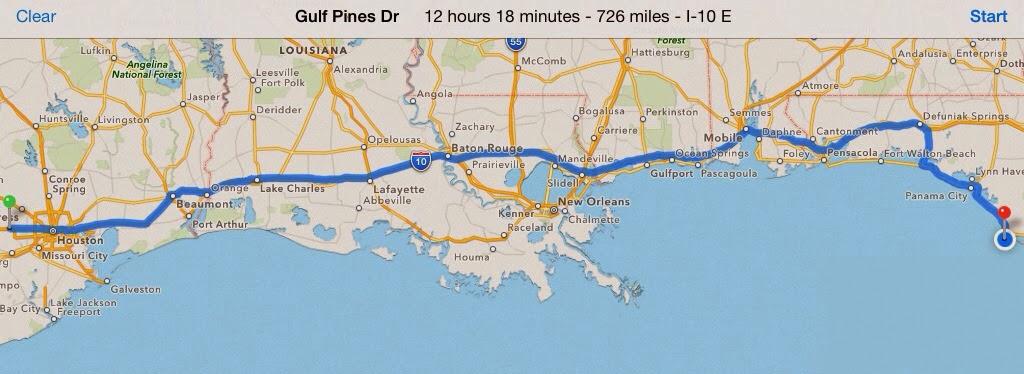 Map Of Texas To Florida.Thijs Barbara Famke En Floortje In Texas Florida Road Trip