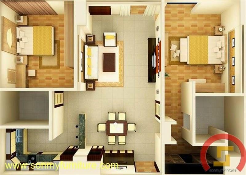 Thiết kế nội thất căn hộ 706