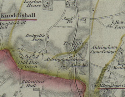 Map from the early 1800s