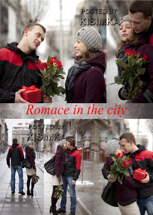 Stock Photo: Romace in the city