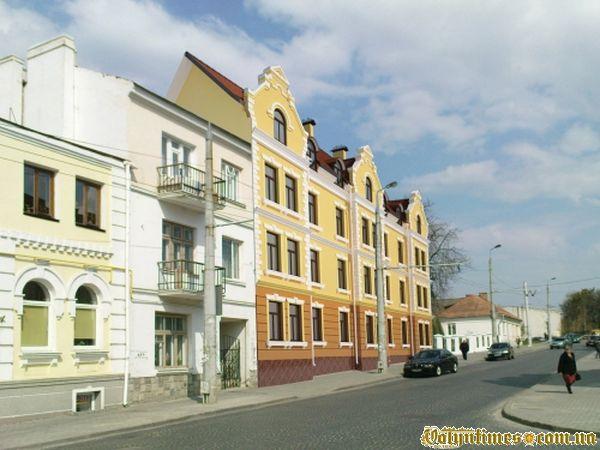 Проектна пропозиція забудови, що планується на вул. Богдана Хмельницького, 12