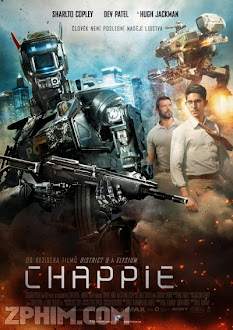 Chappie - Full HD (2015) Poster