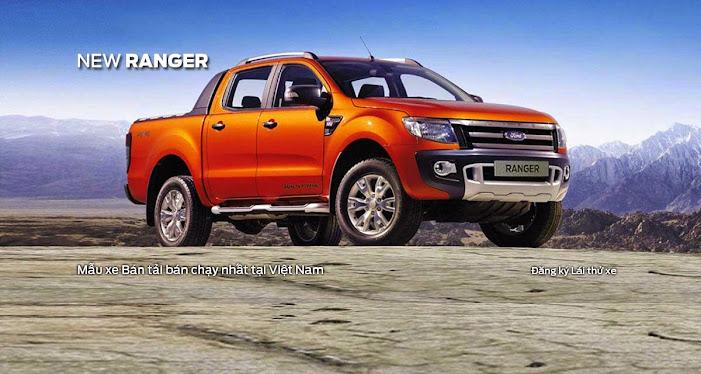 Đánh giá xe Ford Ranger mới 2014