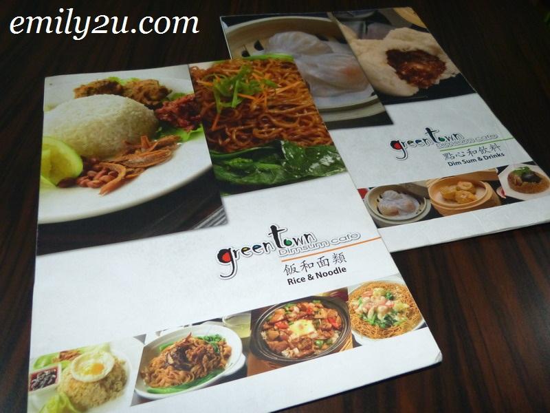 halal dimsum café Greentown Ipoh