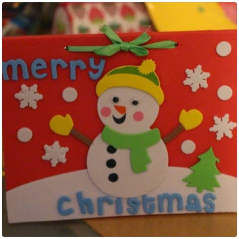 children christmas crafts