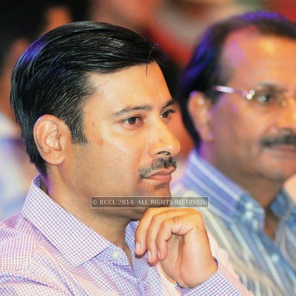 Saurabh Kakkar during the talk show, in Jaipur.