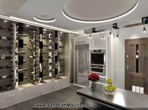 Tủ rượu âm tường - Điểm nhấn cho phòng khách hiện đại - <strong><em>Tủ âm tường</em></strong>-3