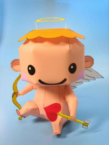 2014 Cupid Papercraft