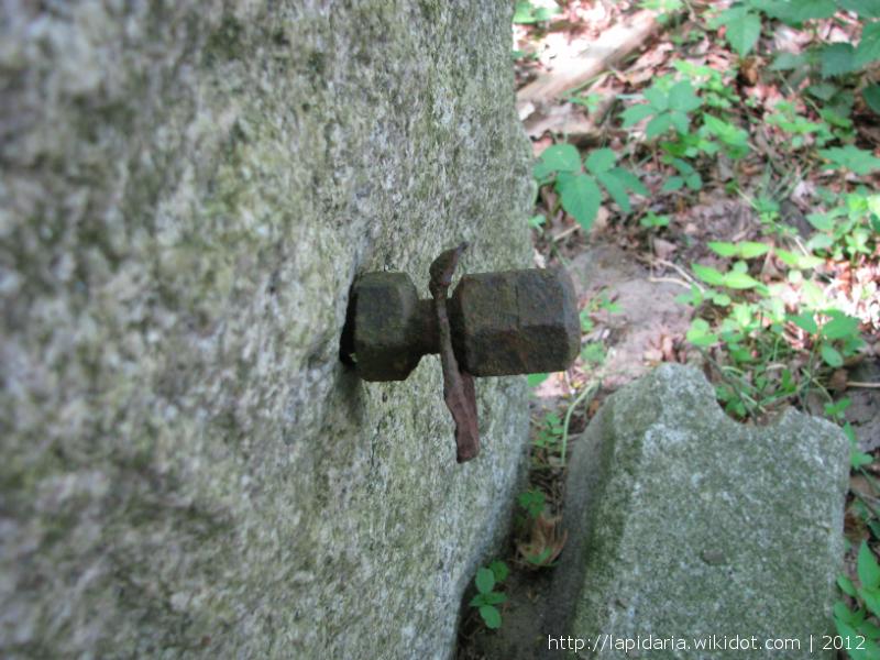 Tylna strona grobu Otto Poehlera