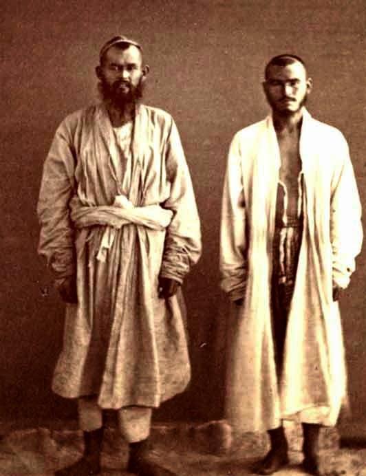 Рубаха азиатов