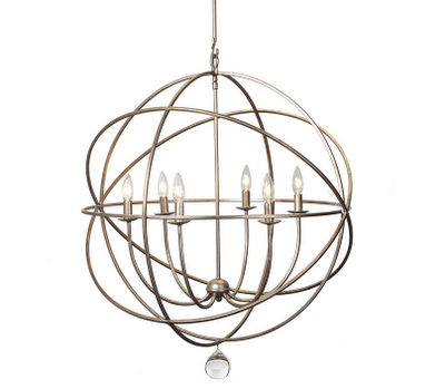Bathroom Hardware on Eclipse Chandelier From Z Gallerie