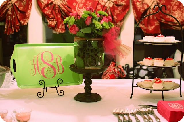 Being Mrs. Gentry: A Monogram Shower for the Bride