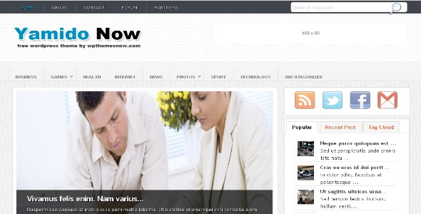 Yamido Wordpress Theme