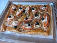hojaldre de berengena/aubergine puff pastry
