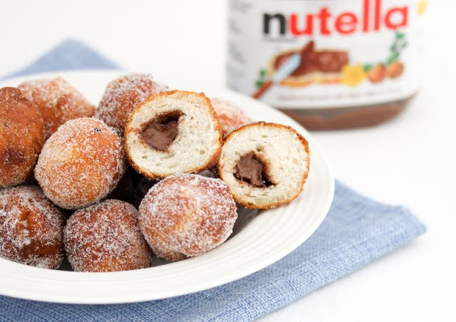 ... eventually figure out how to make a Nutella flavored fried doughnut