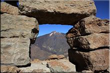 Teide visto desde la Peña de Guajara