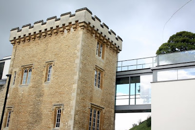 Malmasion Hotel in Oxford Castle in England