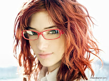 women susan coffey redheads models glasses girls with glasses 1024x768 wallpaper
