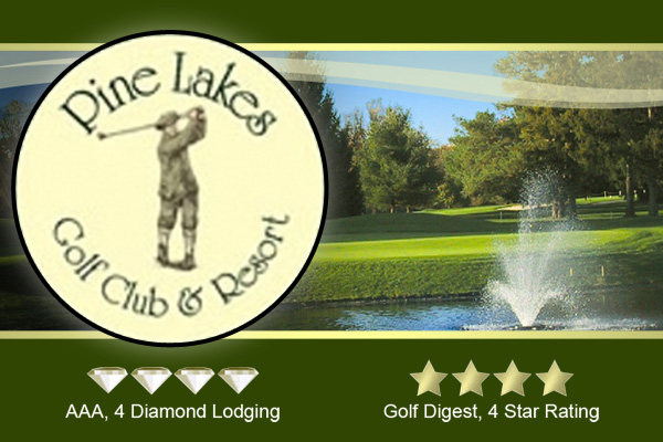 Northeast Ohio Golf Courses Pine Lakes Golf Club Logo