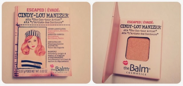 Birchbox November 2014 Review Unboxing theBalm Cosmetics Cindy-Lou Manizer Sample