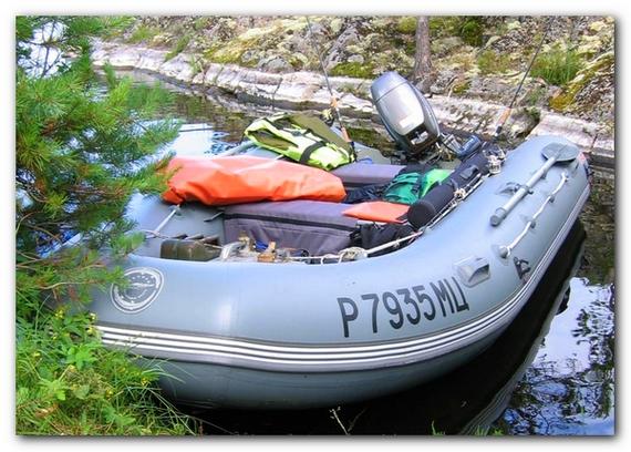 Комплектация надувной лодки