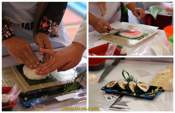 Sushi Cooking Japan School Caravan