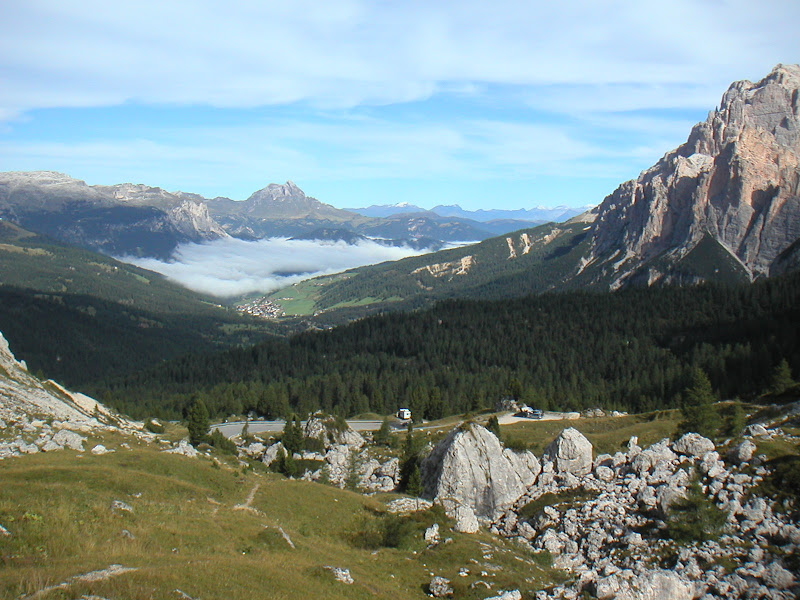 Dolomites • Passo Valparola